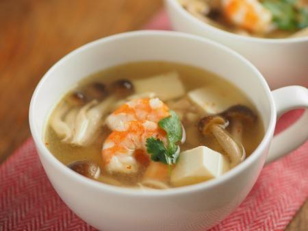 エスニック豆腐スープ033