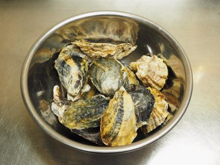 殻付き牡蠣の蒸し方033