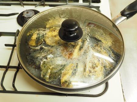 殻付き牡蠣の蒸し方043