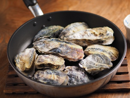 殻付き牡蠣の蒸し方001