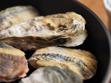 殻付き牡蠣の蒸し方005