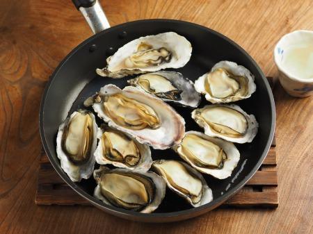 殻付き牡蠣の蒸し方014