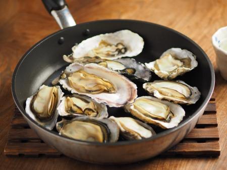 殻付き牡蠣の蒸し方007