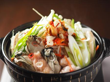 牡蠣もつ鍋006