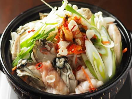 牡蠣もつ鍋016