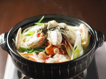 牡蠣もつ鍋023