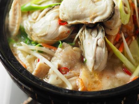 牡蠣もつ鍋033