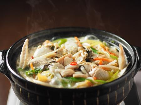 牡蠣もつ鍋049