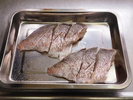 鯛の幽庵焼き、味噌漬け焼き031