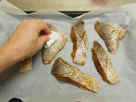 鯛の幽庵焼き、味噌漬け焼き063