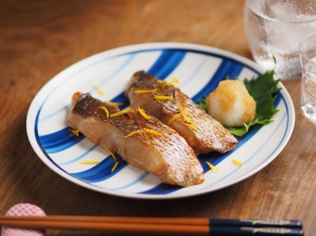 鯛の幽庵焼き、味噌漬け焼き001