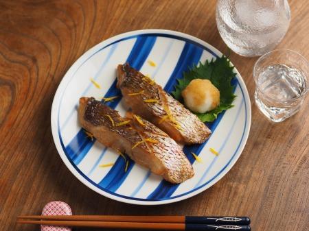 鯛の幽庵焼き、味噌漬け焼き010