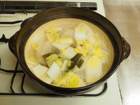 マトウダイとあさりの旨味噌鍋057