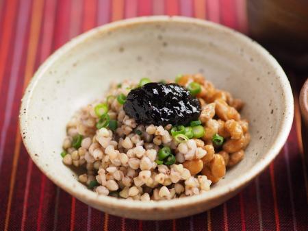 そばの実茹で方、納豆和え019