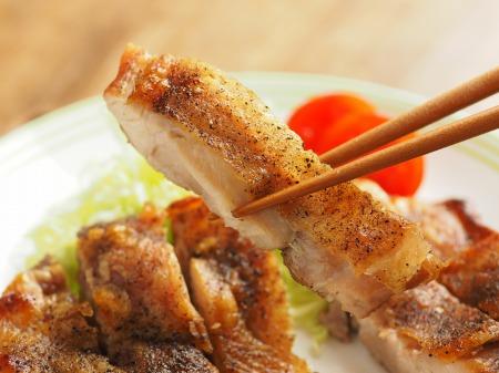 乾燥鶏もも肉オーブントースタ048
