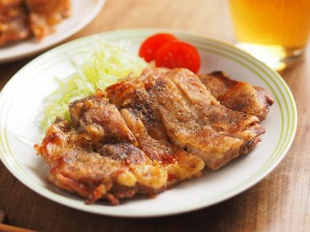 乾燥鶏もも肉オーブントースタ020
