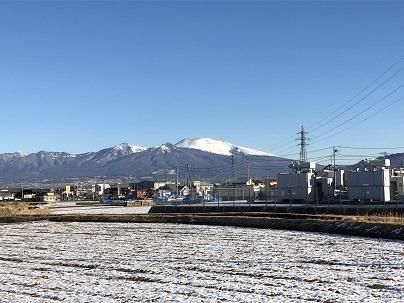 浅間山2月