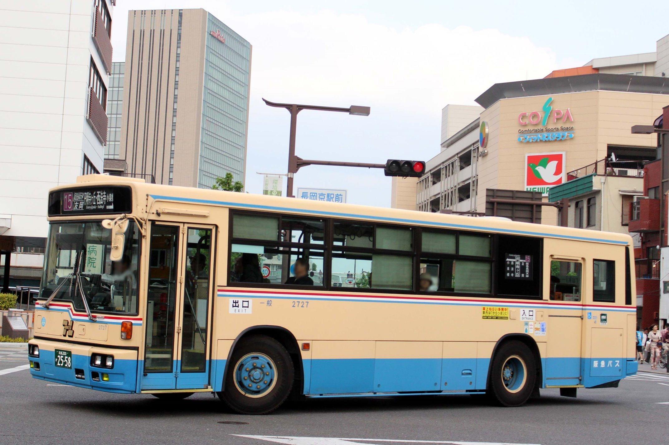 阪急バス 2727