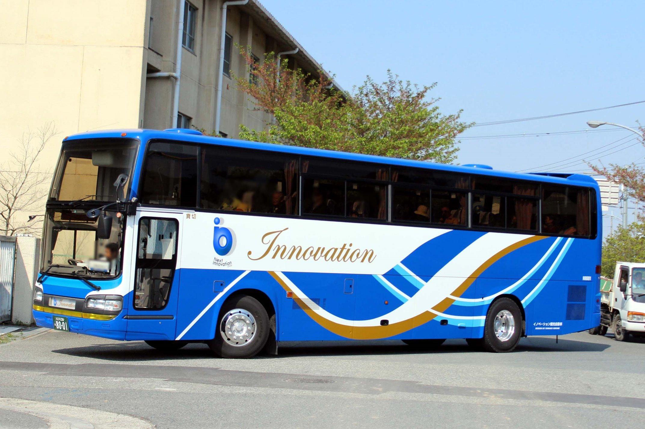 イノベーション観光自動車 H8001
