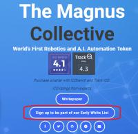 The Magnus Collective、MGS、マグヌス、マグナス、ICO、仮想通貨、暗号通貨、トークン、AI、人工知能、ロボット、robot、