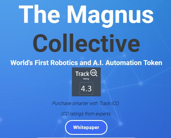 The Magnus Collective、MGS、マグヌス、マグナス、ICO、仮想通貨、暗号通貨、トークン、AI、人工知能、ロボット、robot、TrackICO
