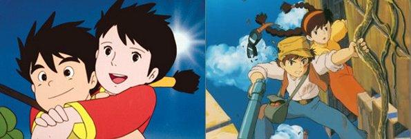 未来少年コナンと天空の城ラピュタ