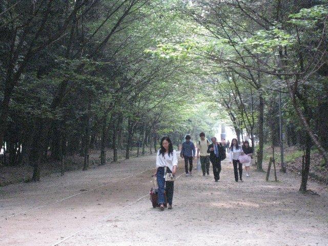 0531 近江神宮 私と同じエキストラ参加者たち