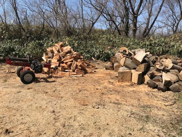 薪割り春春1