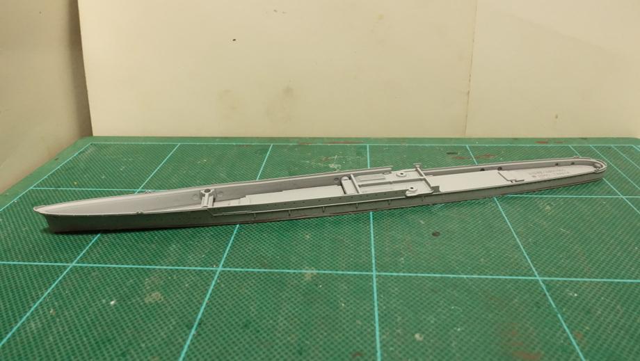 タミヤの1/700 ウォーターラインシリーズ No.315 日本海軍軽巡洋艦 矢矧 その1