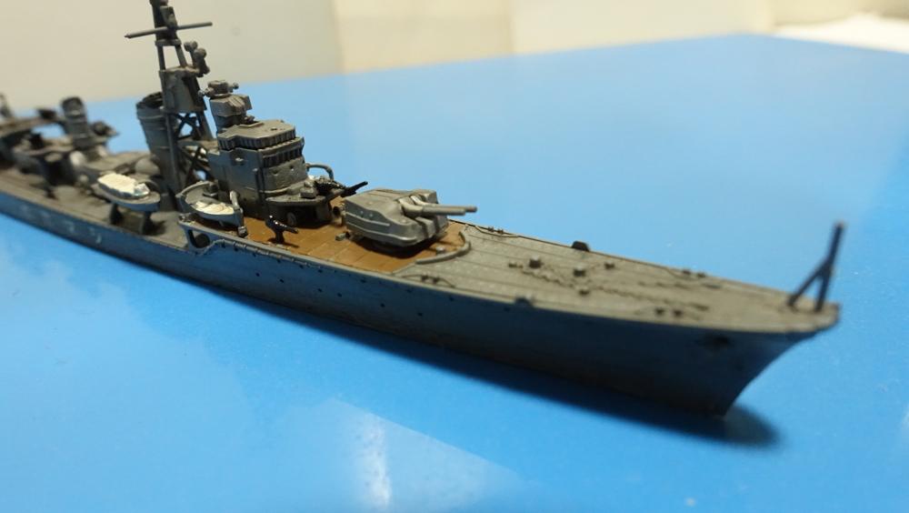 タミヤの1/700 ウォーターラインシリーズ No.460 日本海軍駆逐艦 島風その1