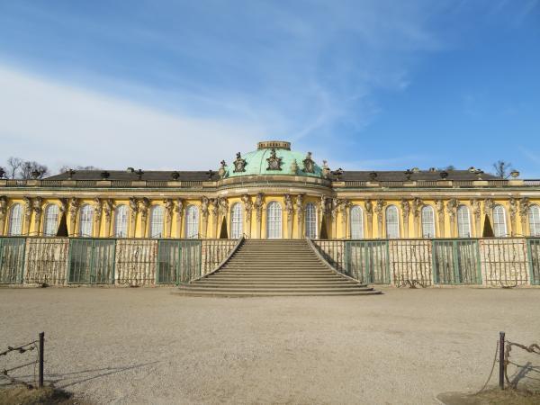 サンスーシ宮殿1