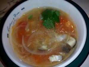 「創味シャンタンでトマトスープ」創味食品(京都)