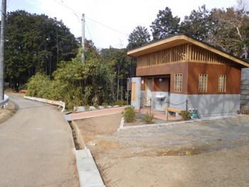 駒高の新しいトイレ