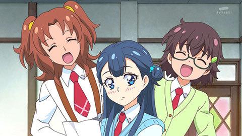 【HUGっと!プリキュア】第02話「みんなの天使!フレフレ!キュアアンジュ!」02
