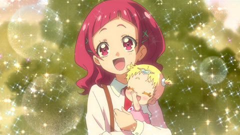 【HUGっと!プリキュア】第05話「宙を舞え!フレフレ!キュアエトワール!」10