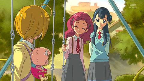 【HUGっと!プリキュア】第05話「宙を舞え!フレフレ!キュアエトワール!」09