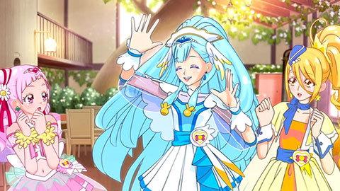【HUGっと!プリキュア主題歌シングル】エンディング・ノンテロップ映像「HUGっと未来☆ドリーマー」