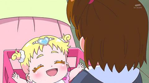 【HUGっと!プリキュア】第06話「笑顔、満開!はじめてのおしごと!」08