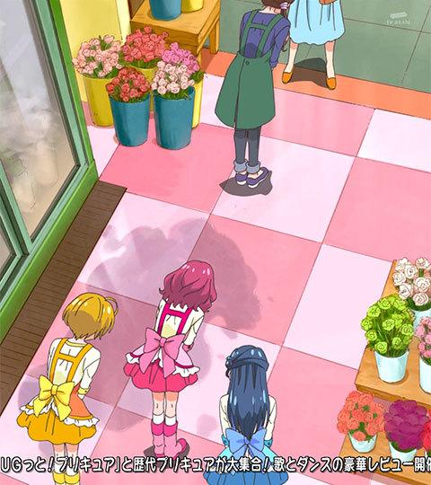 【HUGっと!プリキュア】第06話「笑顔、満開!はじめてのおしごと!」07