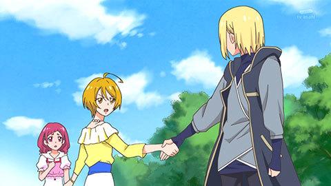 【HUGっと!プリキュア】第08話「ほまれ脱退!?スケート王子が急接近!」07