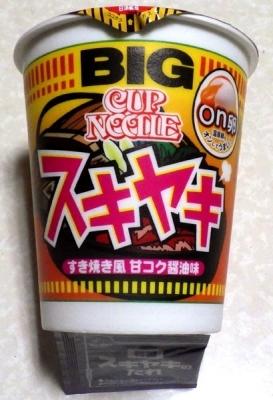 3/12発売 カップヌードル BIG スキヤキ
