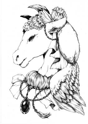 牛の貴婦人