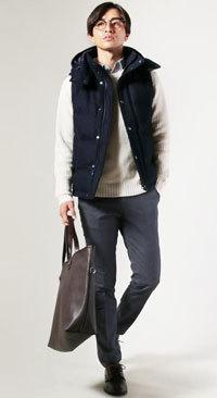 30代 冬ファッションコーディネート メンズ9