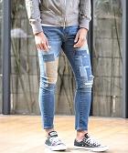 Skinny Denim Pants パンツ ダメージ 流行 メンズ服