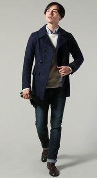 30代 冬ファッションコーディネート メンズ4