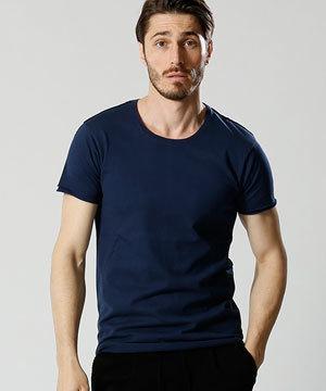 2018 春夏 メンズファッション 半袖Tシャツ カットオフ5