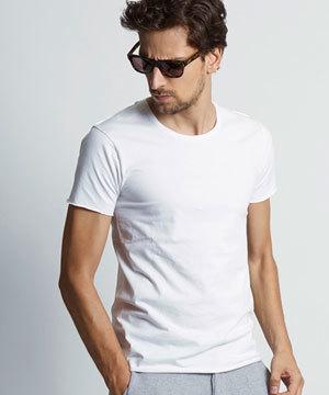2018 春夏 メンズファッション 半袖Tシャツ カットオフ1