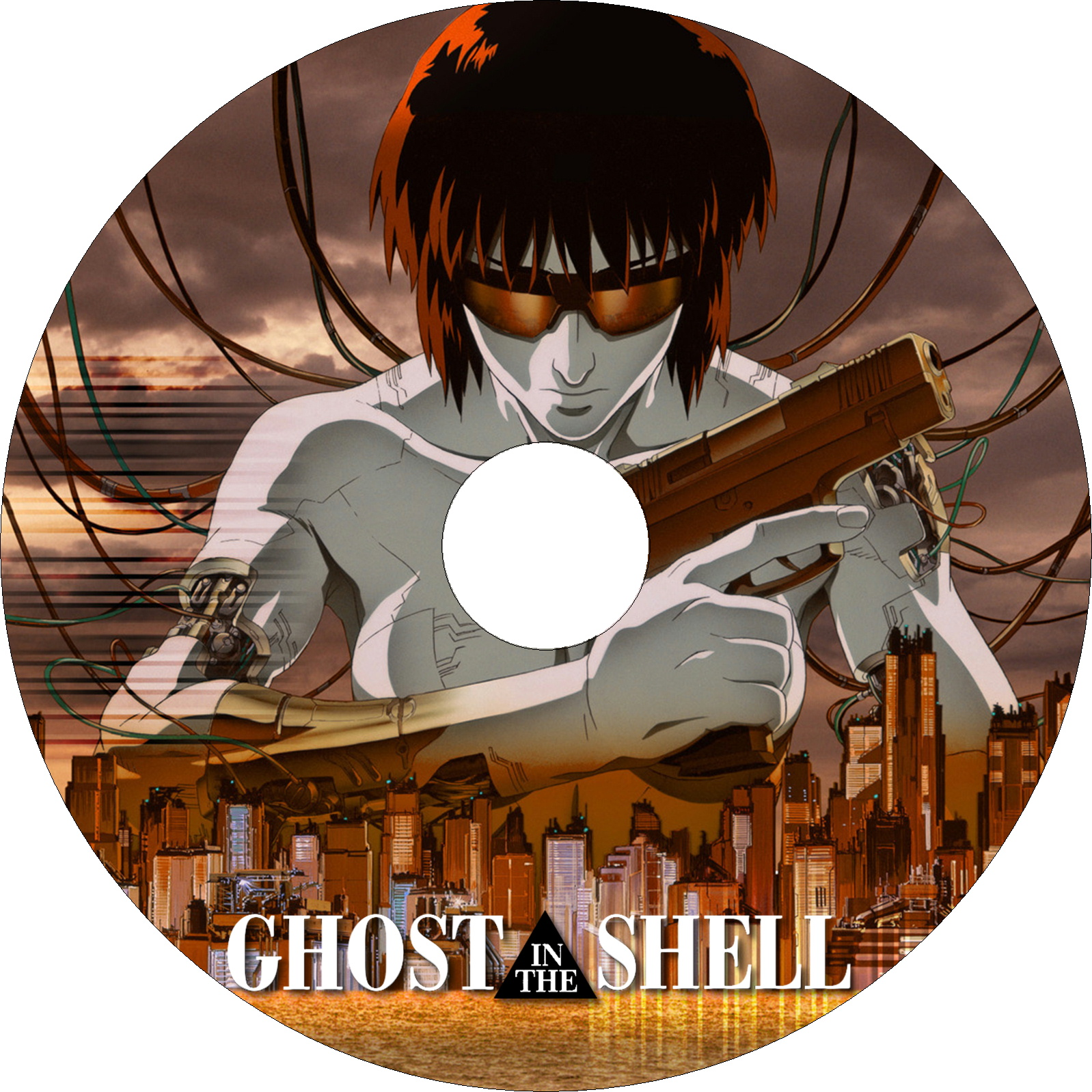 GHOST IN THE SHELL 攻殻機動隊 ラベル2