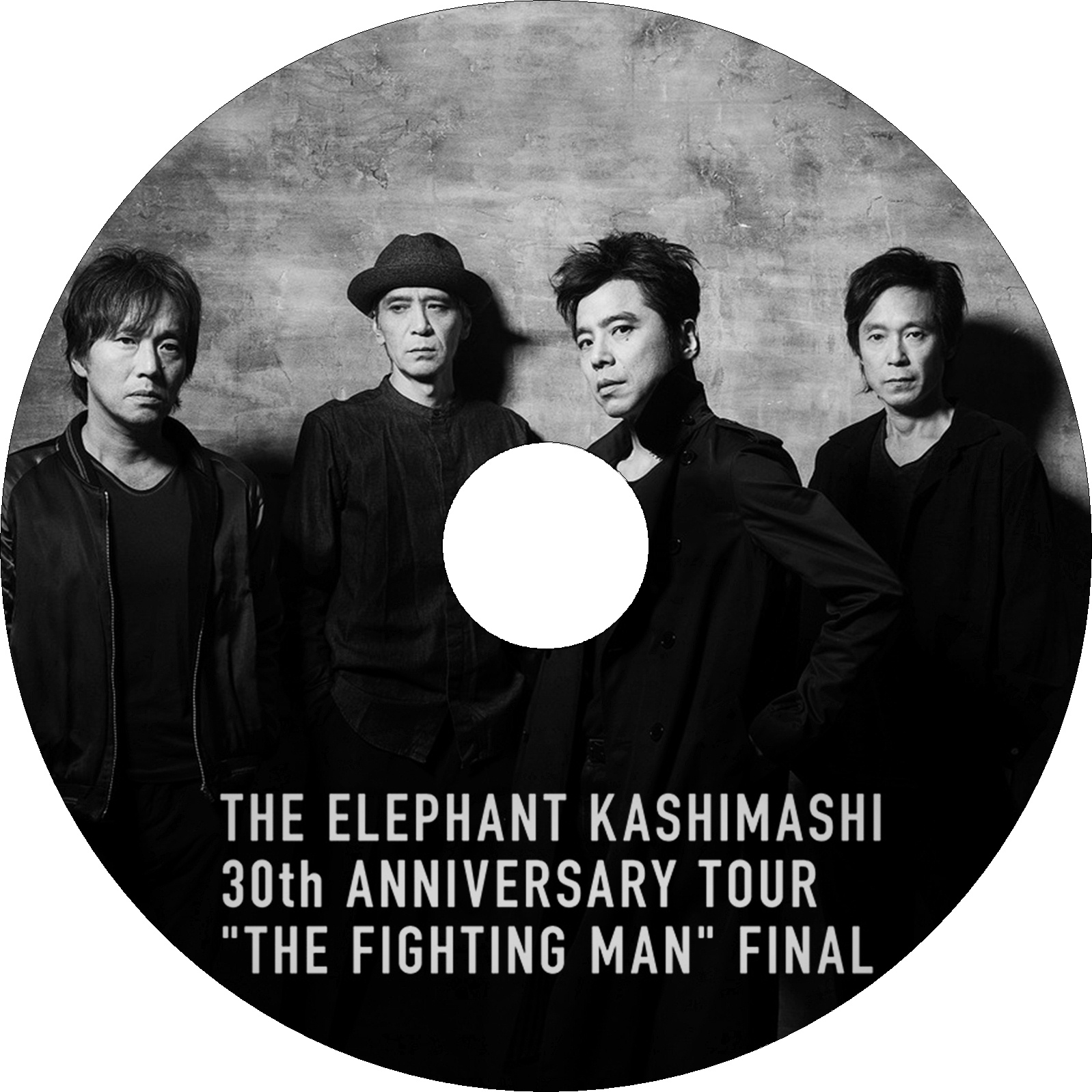 "エレファントカシマシ 30th ANNIVERSARY TOUR ""THE FIGHTING MAN"" FINAL ラベル"