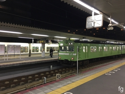 20171201奈良駅 - 1